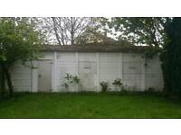 Large Secure Lock up Garage for Let - Sidcup - Exclusive Driveway with r/c Shutters for Storage.
