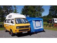 """VW T25 """"Bessie"""" Campervan 4 Berth 1989 G Plate Bilbo Conversion"""