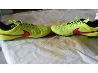 Nike artificial grass boots size UK 10 worn a few times, vgc