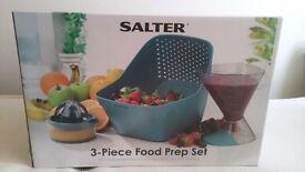 SALTER 3 in 1 food preparation set BRAND NEW