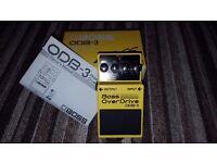 Boss ODB3 bass overdrive pedal