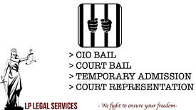 Immigration Bail, Bail Hearing, Bail representation, Representation in Court, Temporary Admission