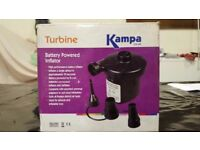 Brand New Kampa Battery Powered Electric pump/inflator for Motorhomes, Caravans, Camping or Home Use