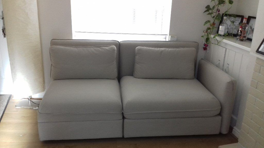 Ikea Vallentuna 2 3 Seater Sofa With Storage Comfy 6 Month Old