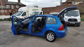 PEUGEOT 307 HDI 2.LITER DIESEL ESTATE COME WITH 12 MONTHS MOT NATIOWIDE WARRANTY IS AVAILABLE
