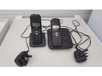 Gigaset C300a Twin Cordless Phone Set With Answer Machine