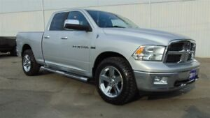 2011 Ram 1500 BIG HORN QUAD 4X4 - ONLY 88,000 KMS!!!