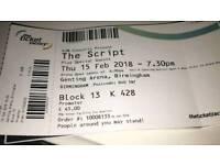 The Script Tickets For Sale! Birmingham!