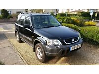 Honda CRV ES 2.0l black, petrol, manual 1998, mileage 115,000