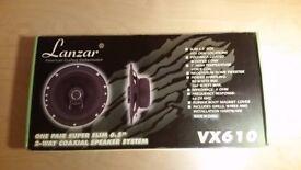 Lanzar car speakers