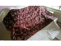 sumptuous bed throw and pillow shams