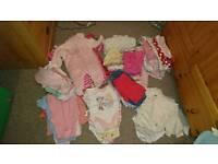 Baby girl bundle 0-3 month