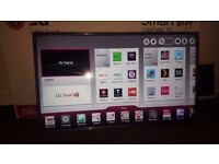 """LG 42LA620V 42"""" ***3D Smart WiFi*** Built In Full HD 1080p LED TV With Freeview HD NO STAND"""