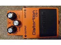 Guitar effects pedal Boss Distortion DS-1