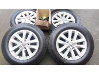 Brand New 16 inch VW 10 Spoke Alloy Wheels