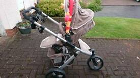 Buggy with carrycot
