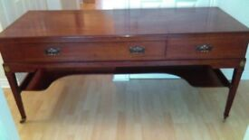 Superb sideboard / hall table Drawing room will look fantastic in a Victorian/Edwardian home