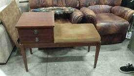 2 drawer telephone seat