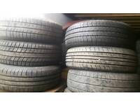 185 65 14 part worn tyres like new