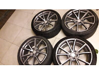 18 inch new style audi rs alloys 5x112