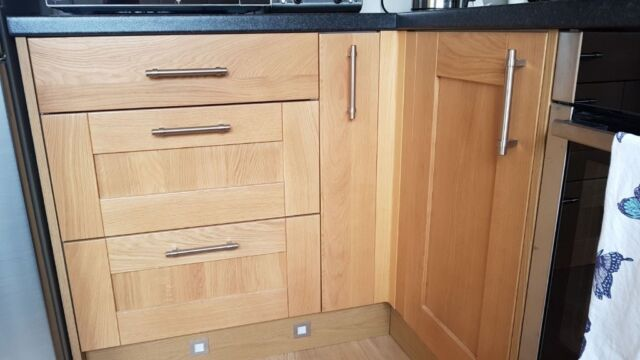 Peachy Homebase Southfield Oak Kitchen Units Brand New Kitchen Units Unopened In Its Original Packaging In Dundee Gumtree Complete Home Design Collection Barbaintelli Responsecom