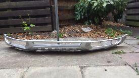 Audi Q7 S Line Bumper/Lip_ Sprayed in silver_Excellent condition
