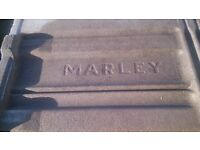 Second hand marley roof tiles.
