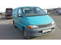**FOR BREAKING** 2003 TOYOTA HIACE D4D.