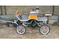 4 Wheel driving cart for sale. As new, used twice. Excellent condition. Brakes all round.