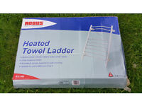 Heated Towel Ladder in Chrome