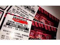 1X Reading weekend Festival ticket- collection or can post.