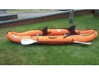 Yak inflatable 2 man kayak