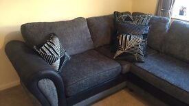 DFS Right Hand Corner Sofa For Sale