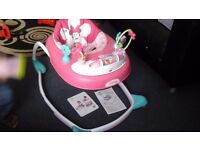 Minnie mouse Bows & Butterflies Walker Vgc!