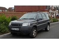 Land Rover Freelander TD4 (Kalahari Edition) + 2003/53 Reg + 5 Door + 4X4 + Special Edition +