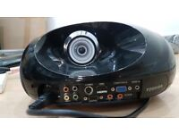 TOSHIBA FLOOR MOUNTED DVD 5.1 DOLBY PROJECTOR.