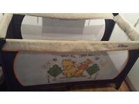 🔴Hauck Disney baby Winnie the pooh travel cot 🔴
