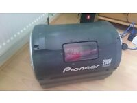 Pioneer TS-WX20LPA subwoofer with built-in amplifier / Sub and amp