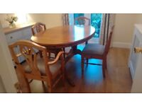 Ducal Dining Table and Chairs