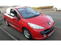 2006 new shape peugeot 207 cheap to run and insure £795 may px