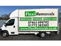Professional, Reliable and Fully Insured Removals Service - 01772 382582 Call For a Free Quote.