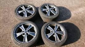 """17"""" alloys alloy wheels 5x114.3"""