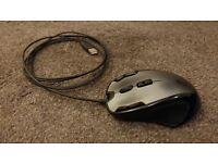 Logitech G300 gaming mouse, used, RGB,