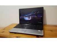 "HP Compaq CQ61 Laptop, Intel Dual Core, 4GB RAM, 250GB HDD, 15.6"" LED, Webcam, HDMI, Windows 10,WIFI"