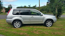 NISSAN X Trail - Columbia, 2006, 2.2 DCi, Manual, 4x4, 96,000 miles, Silver, 1 year MOT (see notes)