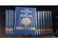 The New Book of Knowledge - 20 Book Set By Grolier (all hardback)