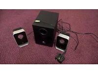 Logitech LS21 Multi Purpose Speakers with Subwoofer