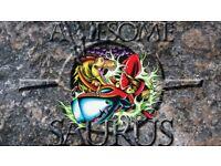 Awesome-O-Saurus Needs A Bassist