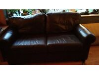 FREE IKEA EKTORP LEATHER SOFA