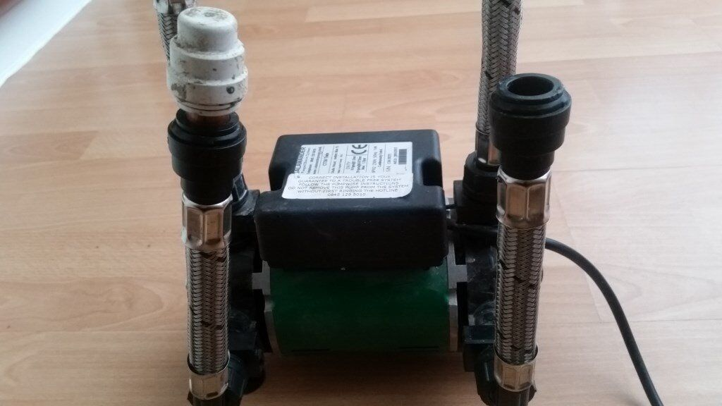 Salamander CT 50 twin impeller Shower Pump